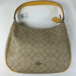 Coach F29209 Zip Shoulder Hobo Bag Purse NEW